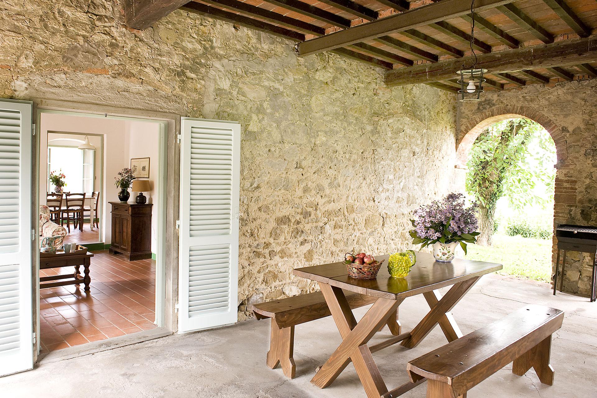 Fraschetta casa tipica toscana fattoria casabianca for Casa in stile fattoria
